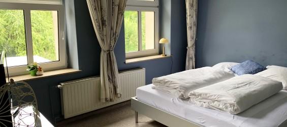 Ferienwohnung Dresden Blaues Zimmer