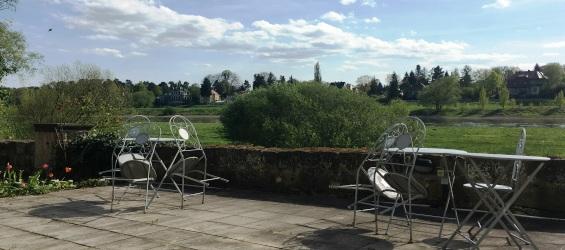 Plantagengut Hosterwitz Impressionen Terrasse