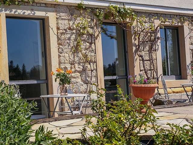 Elb-Terrasse Ansicht Plantagengut Hosterwitz
