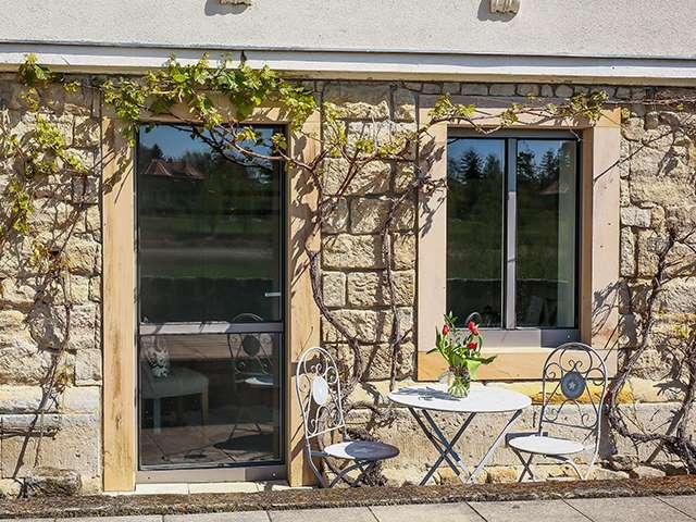 Kleines Elb-Terrassenzimmer Terrasse